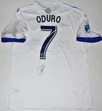 Dominic Oduro signed (Montreal Impact) Mls Soccer autographed jersey W/Coa