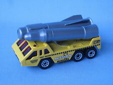 Matchbox Rocket Transporter Yellow Body Mission Toy Model Car Boxed