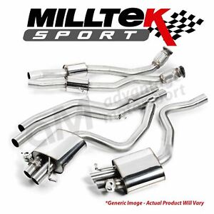 Milltek VW Golf MK7 GTi Incl GTI Performance Pack 13+ Catback Exhaust SSXVW274