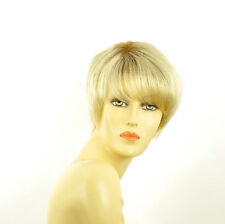 short wig for women very clear golden blond ref: louise ys PERUK