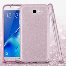 SAMSUNG J7 727 2017 pink glitter flexible tpu case USA SELLER