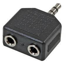 3.5mm Jack Adaptor, 2x Mono to Stereo - PRO SIGNAL