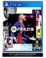 [LATEST] NEW FIFA 21 2021 For The Sony Playstation 4 PS4 Pro + PS5 5 Region Free