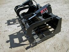 "MTL Attachments RK5 78"" Skid Steer Rock Grapple Bucket Twin Cylinder -$169 ship"