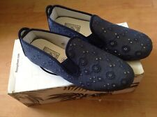 Ladies/girls Blue Size 3 Flossy Style Shoes, New Shop Clearance