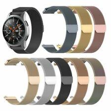 1*Milanés Metal Correa Pulsera Watchband Strap para Samsung Galaxy Watch 42/46MM