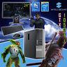 ULTRA FAST i5 Desktop Gaming Computer PC 240GB + 2TB 32GB RAM GTX 1050Ti Win 10