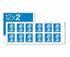12 x Genuine Self Adhesive 2nd Class Postage Stamps