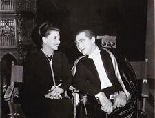 Leonore Aubert Bela Lugosi 1948 Tirage argentique postérieur RC