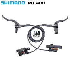 Shimano MT400 Hydraulic Disc Brakes Front and Rear Set Pair Bicycle
