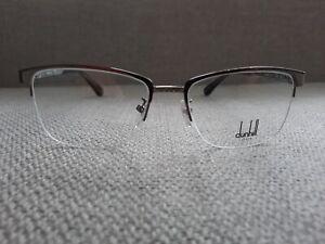 Dunhill Half Rim Eyeglasses Frame Model VDH064 Color Shinny Gunmetal 54-17