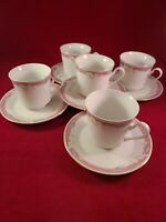 MAJESTY COLLECTION TAUPE FANTASY 8394  5  TEA CUP & SAUCER SET. EXCELLENT