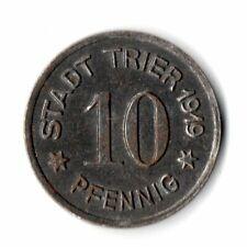 10 Pfennig Stadt Trier 1919 Notgeld Kriegsgeld (ut20n72211)