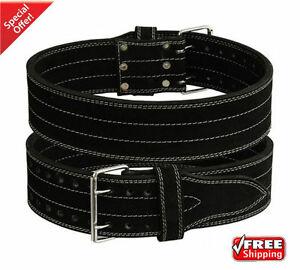 2Fit Weight Lifting Nubuck Leather Power Belt GYM Training Back Support Small