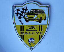 Simca Rallye 1000 Top Quality Chrome Grille Badge Mint Condition Heavy Duty