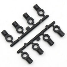 Plastic Ball Ends 4.8x10mm 8pcs to suit 1:10 Rc Crawlers, cars and drift cars.