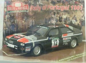 1/43 Audi Quattro  Vinho Porto Rally Portugal 1981  #12 M.Mouton / F.Pons