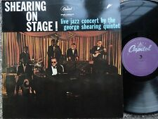 Gearge Shearing Quintet Shearing on Stage! LP 1960 **EX/MINT**