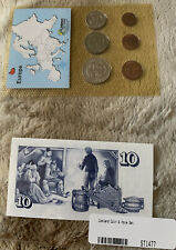Iceland 6 Coin And Note Set