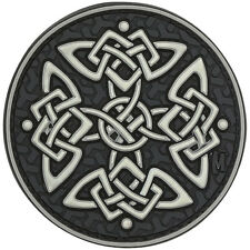 PVC Morale Patch MAXPEDITION - CELTIC CROSS - GLOW In the DARK - Hook & Loop