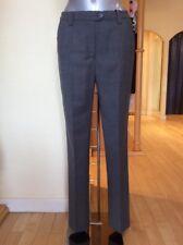 Michele Trousers 'Blue Dot' Size 10 BNWT Grey RRP £143 Now £64