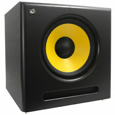 Seismic Audio Active 12 Inch Studio Subwoofer- 120 Watts RMS - 8 Ohms