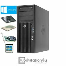 HP Z220 Workstation Xeon e3-1270 i7 RAM 16gb, SSD 256gb, NVIDIA Quadro 600 Win10