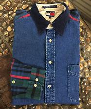 Tommy Hilfiger Denim/Tartan Men's Long Sleeved Polo/Shirt XL