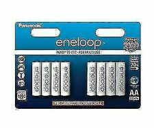Panasonic BK-3MCCE/8BE 1900 mAh NiMH Rechargeable Batteries - 8 Pack