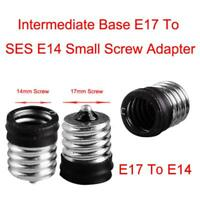 Small Screw E17 To E14 Bulb Adapter Light Lamp Convertor Holder Socket Base CBB