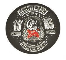 Harley Davidson Miller High Life Beer Bier Bierdeckel Untersetzer Coaster USA