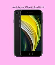 Apple iPhone SE 2.Gen ( 2020 ) 128GB - Black Schwarz OVP versiegelt NEU