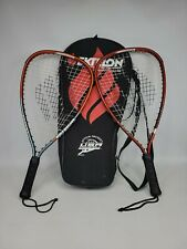 Set of Two Ektelon 900 Power Level Racquetball Rackets Oversize 105 RM27A 3Y