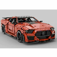 Ford Shelby Gt500 2020 rc motor Car Brick Block Moc Technic Lego compatibile