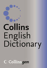 English Dictionary - Collins Gem: silver/blue cover. Pack of 5  £25.00   New