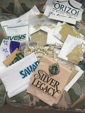 Vintage Lot 25 Hotel Casino Plastic Bags New