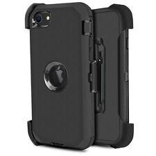 For iPhone SE 2 2020 Shockproof Hard Case Cover Belt Clip Fits Otterbox Defender