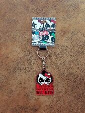 New KISS Hello Kitty Keychain Gene Simmons Rock and Roll All Night