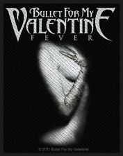 BULLET FOR MY VALENTINE - Patch Aufnäher - Fever 10x8cm