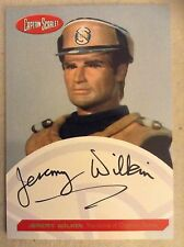 GERRY ANDERSON COLLECTION CAPTAIN SCARLET AUTOGRAPH CARD: JEREMY WILKIN - OCHRE
