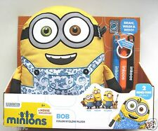 INKOOS MINIONS BOB - DRAW DESIGN DECORATE THEN WASH AND RE-DO! BRAND NEW!