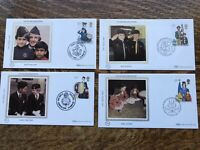 Gb Benham 1982 Fdc's YOUTH ORGANISATIONS Set Of 4