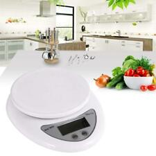 5kg LCD Digital Electric Kitchen Weight Scale Postal Diet Food Weigh Balance BR