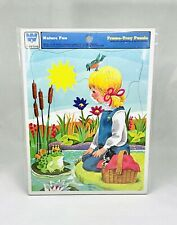 Nature Fun Whitman Frame-Tray Puzzle Cardboard 1975 4511H Vintage