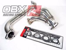 OBX Header Exhaust Fits 88-91 Honda CRX Si 93-97 Del Sol 92-00 Civic VTEC D16Z6