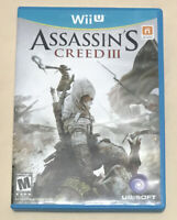 Assassin's Creed III (Nintendo Wii U, 2012) Complete