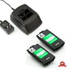 1 Charger +2 x Bp200 Bp-200 Bp-200L Battery for Icom Ic-A23 Ic-A5 Ic-T8 Ic-T81