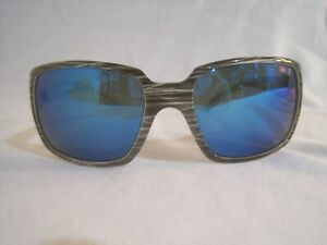 Salt Life Bal Harbor Polarized Fishing Sunglasses UV Protection Slate Stripe
