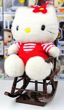 Rare Vtg Hello Kitty Plush Sitting Battery Operated Rocking Chair Lullaby Toy