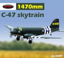 Dynam C47 Skytrain Green 1470mm Wingspan - PNP
